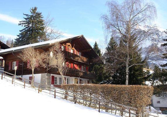 CHALET GRUNEGG GRINDELWALD - Hotel alpina grindelwald